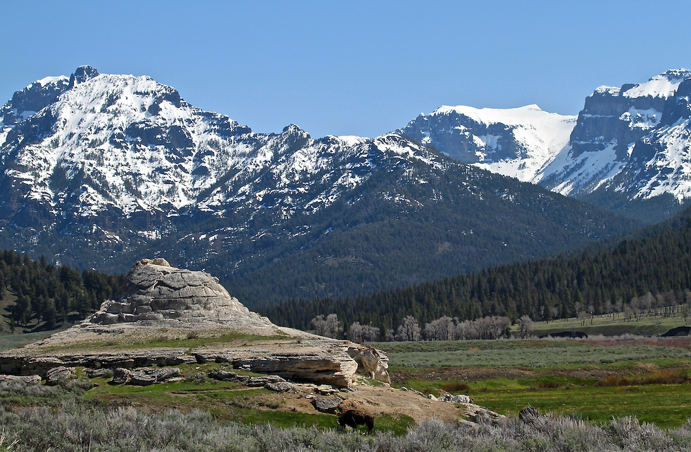 Soda Butte, Yellowstone National Park