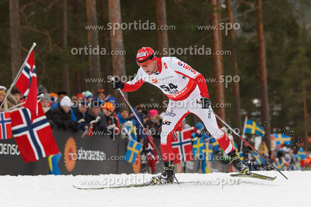 25.02.2015, Lugnet Ski Stadium, Falun, SWE, FIS Weltmeisterschaften Ski Nordisch, Falun 2015, Langlauf, Herren, 15km, im Bild MACIEJ KRECZMER // during the Mens 15km Cross Country Race of the FIS Nordic Ski World Championships 2015 at the Lugnet Ski Stadium in Falun, Sweden on 2015/02/25. EXPA Pictures &copy; 2015, PhotoCredit: EXPA/ Newspix/ Radoslaw Jozwiak<br /> <br /> *****ATTENTION - for AUT, SLO, CRO, SRB, BIH, MAZ, TUR, SUI, SWE only*****