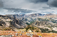 A moody Beartooth Pass.  Moody? the Bearthoots normal state.   At an average elevation of 10,000 feet variable weather varies by the minute.