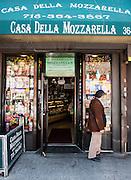 """USA, New York<br /> Arthur Avenue, AKA """"Little Italy"""" in The Bronx"""