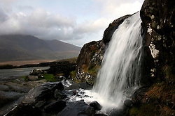 IRELAND KERRY DINGLE 3NOV05 - Waterfall on the Conor Pass on the Dingle Peninsula, Irelands most westerly county...jre/Photo by Jiri Rezac..© Jiri Rezac 2005..Contact: +44 (0) 7050 110 417.Mobile: +44 (0) 7801 337 683.Office: +44 (0) 20 8968 9635..Email: jiri@jirirezac.com.Web: www.jirirezac.com..© All images Jiri Rezac 2005 - All rights reserved.
