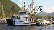 Fishing Boat, Harbor, Sitka, Alaska, USA
