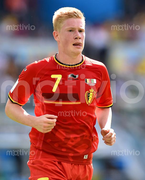 FUSSBALL WM 2014  VORRUNDE    Gruppe H     Belgien - Algerien                       17.06.2014 Kevin De Bruyne (Belgien)