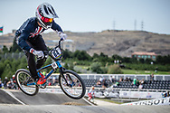 Men Elite #64 (LONG Nicholas) USA the 2018 UCI BMX World Championships in Baku, Azerbaijan.
