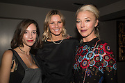 ELISABETH DANA; MALIN JEFFERIES; TAMARA BECKWITH, Don McCullin: Eighty. Hamiltons, Carlos Place, London. 24 September 2015.