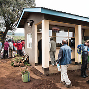 Ranger's hut at Londorossi Gate, one of the National Park ranger gates to Kilimanjaro National Park, and the gate one must check in to when climbing the Lemosho Route of Mount Kilimanjaro.