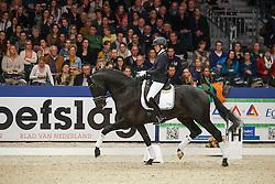 Bruntink Vai (NED) - Ebony<br /> KWPN Stallion Selection - 's Hertogenbosch 2014<br /> © Dirk Caremans
