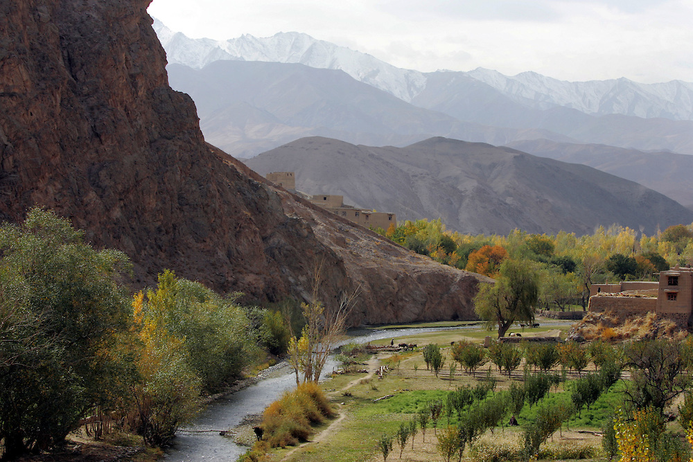 The road to Bamiyan.<br />