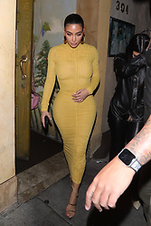 Kim Kardashian is spotted leaving dinner with sister Khloe Kardashian and her mom Kris Jenner at Caraousel in Glendale after her taping at David Letterman. 19 Feb 2020 Pictured: Khloe Kardashian , Kim Kardashian, Kris Jenner. Photo credit: 007 / MEGA TheMegaAgency.com +1 888 505 6342