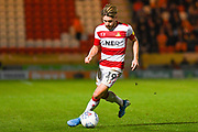 Doncaster Rovers forward Alfie May (19) during the EFL Sky Bet League 1 match between Doncaster Rovers and Blackpool at the Keepmoat Stadium, Doncaster, England on 17 September 2019.