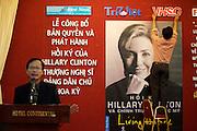 Hotel Continental. Presentation of U.S. Senator Hillary Clinton's autobiography in Vietnamese.