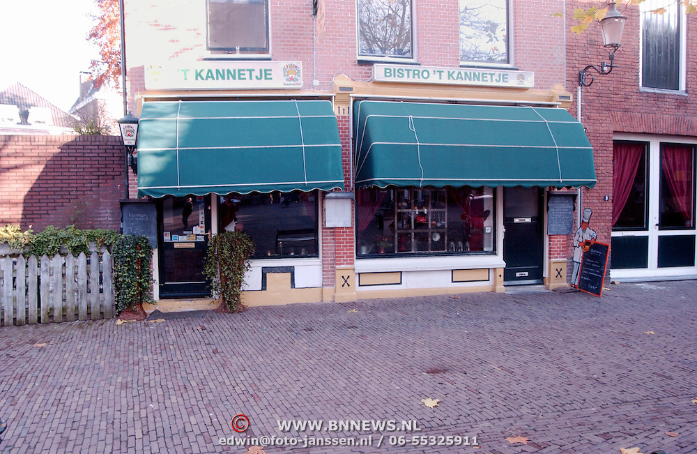 Restaurant 't Kannetje Lieve Vrouwenstraat 11 Amersfoort ext.