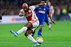 Ryan Babel #49 of Ajax in action during the Europa League match R32 second leg between Ajax and Getafe at Johan Cruyff Arena on February 27, 2020 in Amsterdam, Netherlands