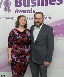 Pictured attending the 2018 Mayo Buisness Awards,<br /> Pic Conor McKeown