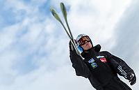 BILDET INNGÅR IKKE I FASTAVTALER. ALL NEDLASTING BLIR FAKTURERT.<br /> <br /> Hopp<br /> Foto: imago/Digitalsport<br /> NORWAY ONLY<br /> <br /> Bad Mitterndorf 17.01.2016, Kulm, Bad Mitterndorf, AUT, FIS Skiflug WM, Kulm, Probedurchgang, im Bild Daniel Andre Tande (NOR) // Daniel Andre Tande of Norway prepares for his Trial Jump of FIS Ski Flying World Championships at the Kulm in Bad Mitterndorf, Austria
