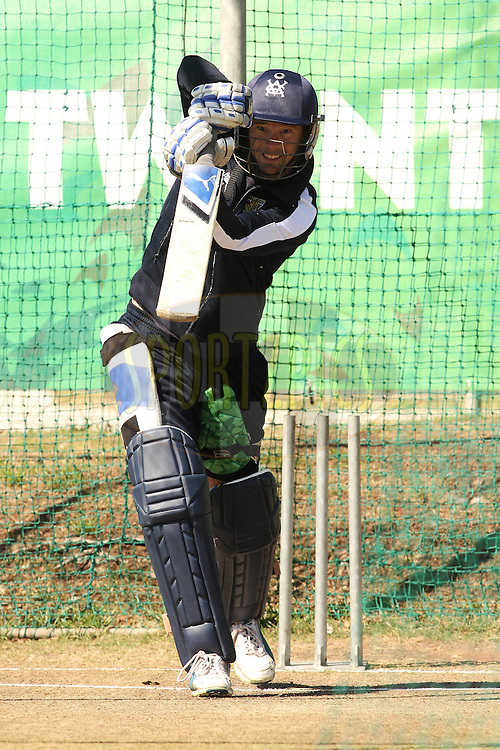 Rob Quiney of the Victorian Bushrangers during the Victorian Bushrangers training session held at St Georges Park in Port Elizabeth on the 12 September 2010..Photo by: Shaun Roy/SPORTZPICS/CLT20