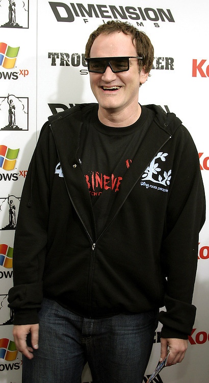 Quentin Tarantino at the Los Angeles premiere of 'The Adventures of Shark Boy & Lava Girl in 3-D' held at the El Capitan Theater in Hollywood, USA on June 4, 2005.