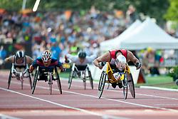 HUG Marcel, TANA Rawat, SUI, THA, 1500m, T54, 2013 IPC Athletics World Championships, Lyon, France