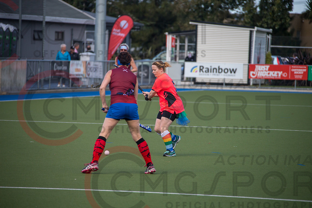 GOLDEN OLDIES FESTIVAL OF SPORT HOCKEY<br /> HINEMOA HUSTLERS<br /> 20180416<br /> KEVIN CLARKE<br /> Photo KEVIN CLARKE CMG SPORT ACTION IMAGES<br /> &copy;cmgsport2018