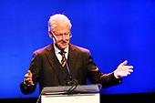 Bill Clinton opent 'De 24 uur van de Reclame'  in Amsterdam