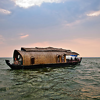 Kerala Backwaters, India Travel Stock Photography