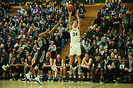 Vermont's Kurt Steidl (34) shoots a three pointer during the men's basketball game between the Dartmouth Big Green and the Vermont Catamounts at Patrick Gym on Wednesday December 7, 2016 in Burlington (BRIAN JENKINS/for the FREE PRESS)