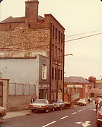 Old Dublin Amature Photos August 1983 WITH, Regans Pub, Behind Guinnesses, Canal, Four Seasons Pub, Bolton St, Henrietta Place, Dominic St, Tobacco Distributors Pearse St, James St, Grand Canal, Harolds St, Kevin