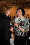 ALICE RAWTHORN, 'Engagement' exhibition of work by Jennifer Rubell. Stephen Friedman Gallery. London. 7 February 2011. -DO NOT ARCHIVE-© Copyright Photograph by Dafydd Jones. 248 Clapham Rd. London SW9 0PZ. Tel 0207 820 0771. www.dafjones.com.