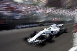 May 25, 2017 - Monaco, Monaco - 19 MASSA Felipe from Brasil of Williams F1 Mercedes FW40 during the Monaco Grand Prix of the FIA Formula 1 championship, at Monaco on 25th of 2017. (Credit Image: © Xavier Bonilla/NurPhoto via ZUMA Press)