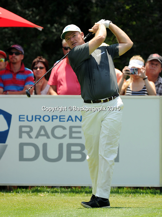 Ernie Els during the 2015 South Africa Golf Open Championship at Glendower Golf Course, Johannesburg on the 09 January 2015  ©Muzi Ntombela/BackpagePix