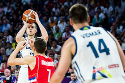 Jaka Blazic of Slovenia during the Final basketball match between National Teams  Slovenia and Serbia at Day 18 of the FIBA EuroBasket 2017 at Sinan Erdem Dome in Istanbul, Turkey on September 17, 2017. Photo by Vid Ponikvar / Sportida