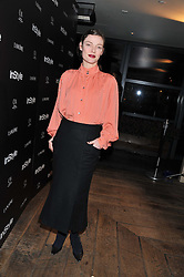 CAMILLA RUTHERFORD at the InStyle Best of British Talent Event in association with Lancôme and Charles Worthington held at The Rooftop Restaurant, Shoreditch House, Ebor Street, E1 on 26th January 2012.