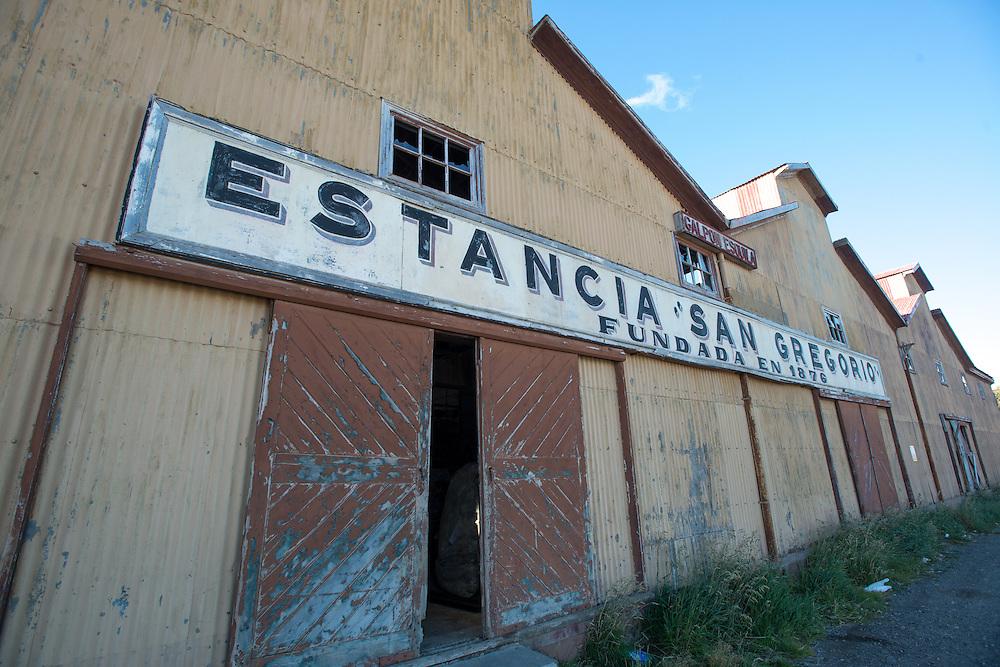 Abandoned Warehouse San Gregorio, Chile<br /> Estancia San Gregorio fundada en 1876 (founded in 1876)