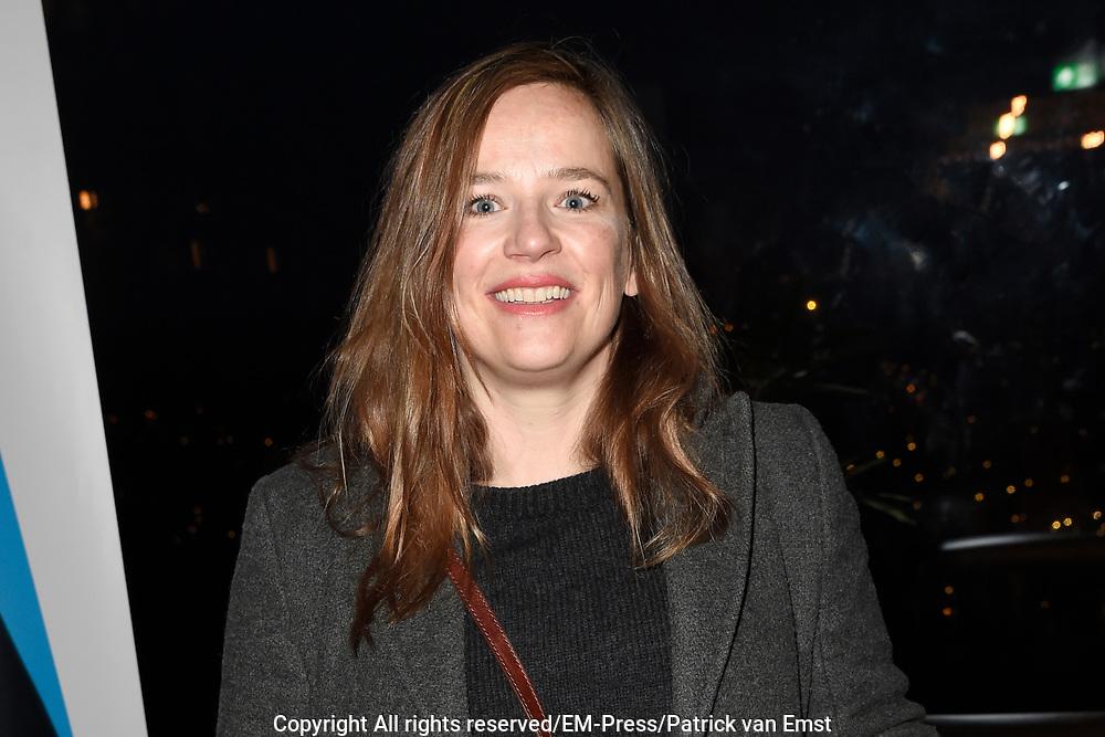 Boekpresentatie Mijn vader is een vliegtuig &ndash; Antoinette Beumer in de Loft van de Adam Toren, Amsterdam.<br /> <br /> Op de foto:  ies Visschedijk
