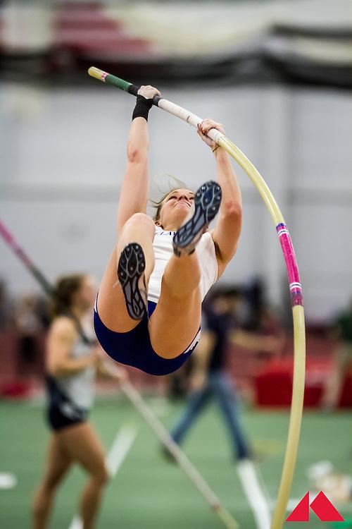 ECAC Indoor Champs, womens pole vault, Gorenflo, Haley           SR Delaware