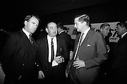 16/11/1966<br /> 11/16/1966<br /> 16 November 1966<br /> O'Brien Plastics Ltd., Bishopstown, Cork reception at the Intercontinental Hotel, Dublin to announce that Phillips Petroleum Company, Oklahoma U.S.A had acquired a 50% interest in O'Brien Plastics. Picture shows (l-r): Mr. Maurice O'Kelly, Commercial Investments; Mr. William O'Brien and Mr. P.L. Levine of Phillips.