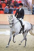 Suzanne Kleijwegt - Zento<br /> KNHS Indoorkampioenschappen 2017<br /> © DigiShots