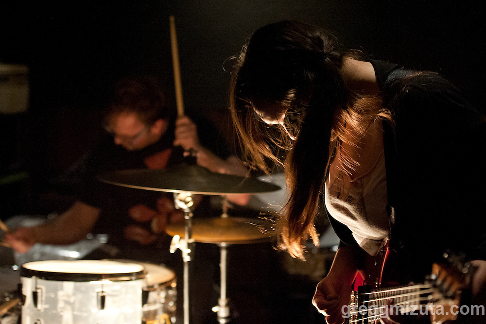 Toy Zoo's bassist Chessa Lilly at the Boise Hive. Boise Weekly selected Toy Zoo's debut album &quot;Toy Zoo&quot; as one of the top 5 local releases of 2015.<br /> <br /> Toy Zoo and Get Wet + played at the Boise Hive in Boise, Idaho, February 27, 2016. It was Get Wet + release show for their first EP, titled &quot;One&quot;.