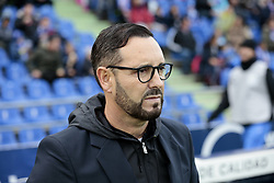 November 10, 2018 - Getafe, Madrid, Spain - Getafe CF's coach Jose Bordalas seen during La Liga match between Getafe CF and Valencia CF at Coliseum Alfonso Perez in Getafe, Spain. (Credit Image: © Legan P. Mace/SOPA Images via ZUMA Wire)