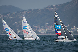 SEGUIN Damien, FRA, 1 Person Keelboat, 2.4mR, Sailing, Voile, SMITH Dee, USA, BINA Daniel, CZE à Rio 2016 Paralympic Games, Brazil