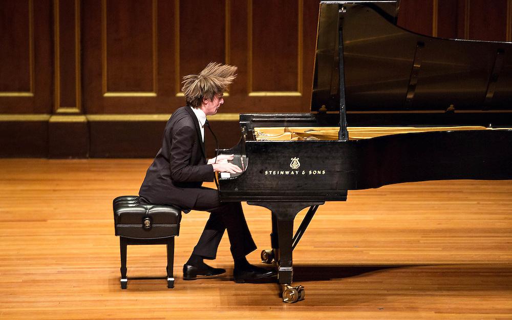 Daniil Trifonov in recital at Jordan Hall, Boston