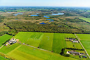 Nederland, Noord-Brabant, Gemeente Asten, 23-08-2016; Nationaal Park De Grote Peel.<br /> National Park De Grote Peel.<br /> <br /> aerial photo (additional fee required); <br /> luchtfoto (toeslag op standard tarieven);<br /> copyright foto/photo Siebe Swart