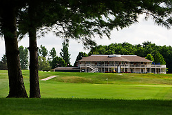 Clubhouse seen from the thirteenth fairway. Kearney Hill Golf Links located in Lexington Kentucky Friday, July 08, 2011.