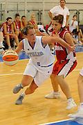 DESCRIZIONE : Ortona Giochi del Mediterraneo 2009 Mediterranean Games Italia Italy Albania Preliminary Women<br /> GIOCATORE : Chiara Pastore<br /> SQUADRA : Nazionale Italiana Femminile<br /> EVENTO : Ortona Giochi del Mediterraneo 2009<br /> GARA : Italia Italy Albania<br /> DATA : 28/06/2009<br /> CATEGORIA : penetrazione<br /> SPORT : Pallacanestro<br /> AUTORE : Agenzia Ciamillo-Castoria/G.Ciamillo