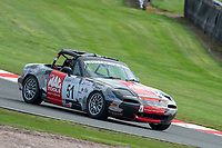 #51 Paul VICE Mazda MX5  during Armed Forces Race Challenge  as part of the 750 Motor Club at Oulton Park, Little Budworth, Cheshire, United Kingdom. April 14 2018. World Copyright Peter Taylor/PSP.