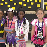 HLES STUDENT OF THE MONTH<br /> (Courtesy photo)<br /> Houston Lower Elementary School named their October Student Of The Month. Shown dressed in Halloween garb are kindergarteners Emma Eaton, Audrey Childress, Ashleigh Pierce, Kia Richardson, Chasitey Sacus, Allie Rhea Smith, Isabella King, Joshua Flatt