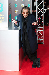 February 2, 2020, London, Greater London, United Kingdom: Al Pacino attends the EE British Academy Film Awards ceremony at the Royal Albert Hall on 02 February, 2020 in London, England. (Credit Image: © Wiktor Szymanowicz/NurPhoto via ZUMA Press)