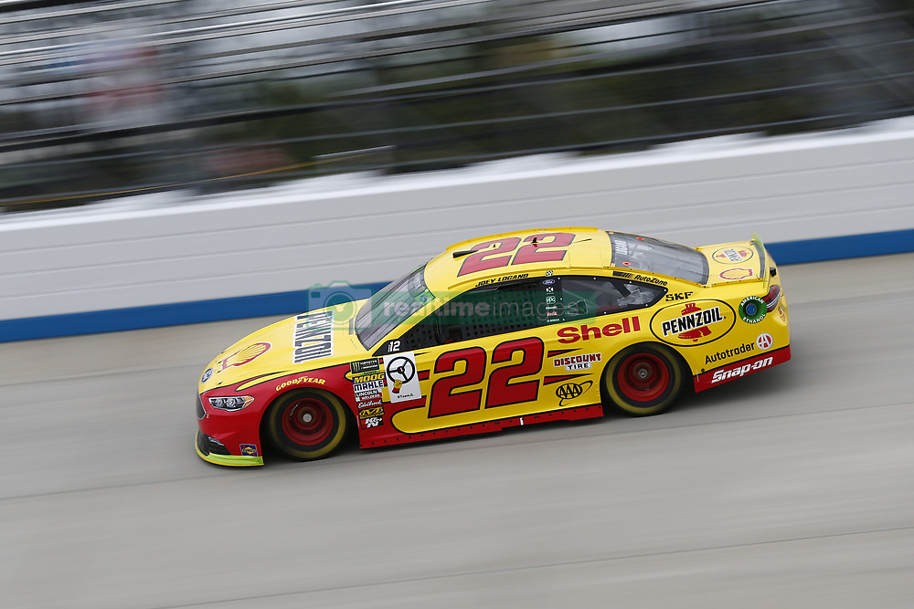 October 5, 2018 - Dover, Delaware, United States of America - Joey Logano (22)  takes to the track to practice for the Gander Outdoors 400 at Dover International Speedway in Dover, Delaware. (Credit Image: © Justin R. Noe Asp Inc/ASP via ZUMA Wire)