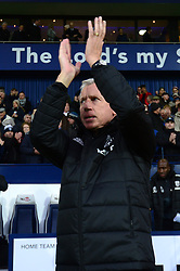 "West Bromwich Albion manager Alan Pardew during the Premier League match at The Hawthorns, West Bromwich. PRESS ASSOCIATION Photo Picture date: Saturday December 2, 2017. See PA story SOCCER WBA. Photo credit should read: Anthony Devlin/PA Wire. RESTRICTIONS: EDITORIAL USE ONLY No use with unauthorised audio, video, data, fixture lists, club/league logos or ""live"" services. Online in-match use limited to 75 images, no video emulation. No use in betting, games or single club/league/player publications."