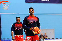 Marcus Delpeche of Bristol Flyers- Photo mandatory by-line: Nizaam Jones/JMP - 19/10/2019 - BASKETBALL - SGS Wise Arena - Bristol, England - Bristol Flyers v London Lions - British Basketball League Cup